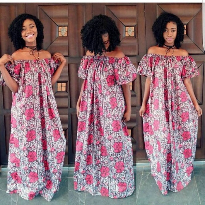 Latest Long ankara Dress Styles 2017 (9)