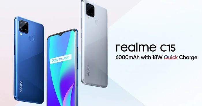 Harga Realme C15 di Indonesia