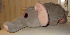 758a 03-peluche flip-flap éléphant-cochon 45 cm