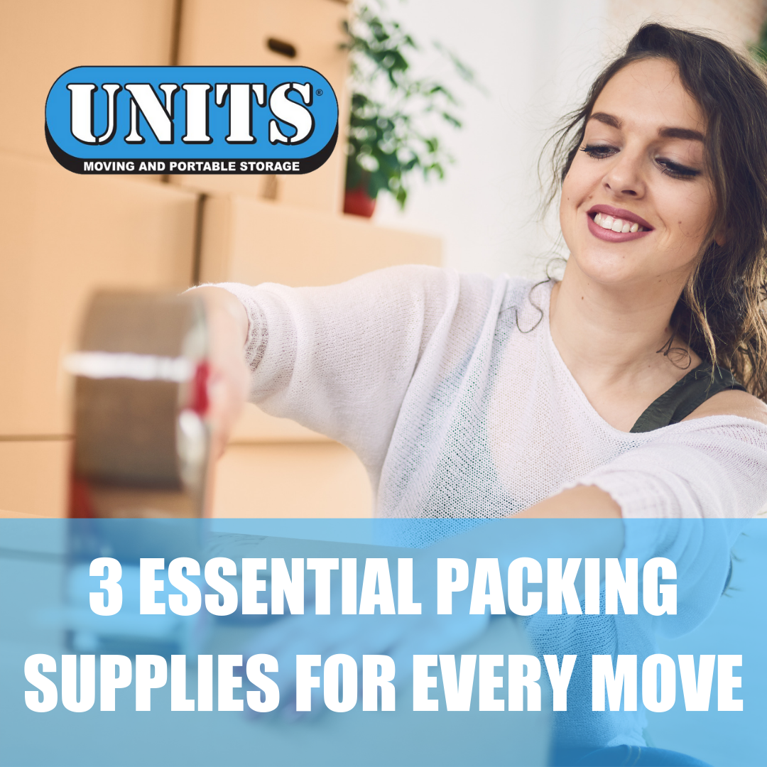3 Essential Packing Supplies for Every Move