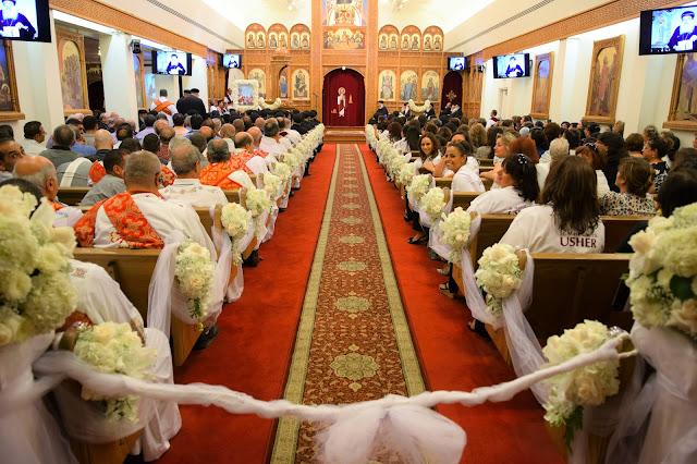 His Holiness Pope Tawadros II visit to St. Mark LA - DSC_0110.JPG