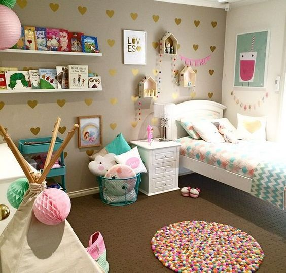 IDEAS DECORATION BEDROOM  FOR GIRL IN 2018 2