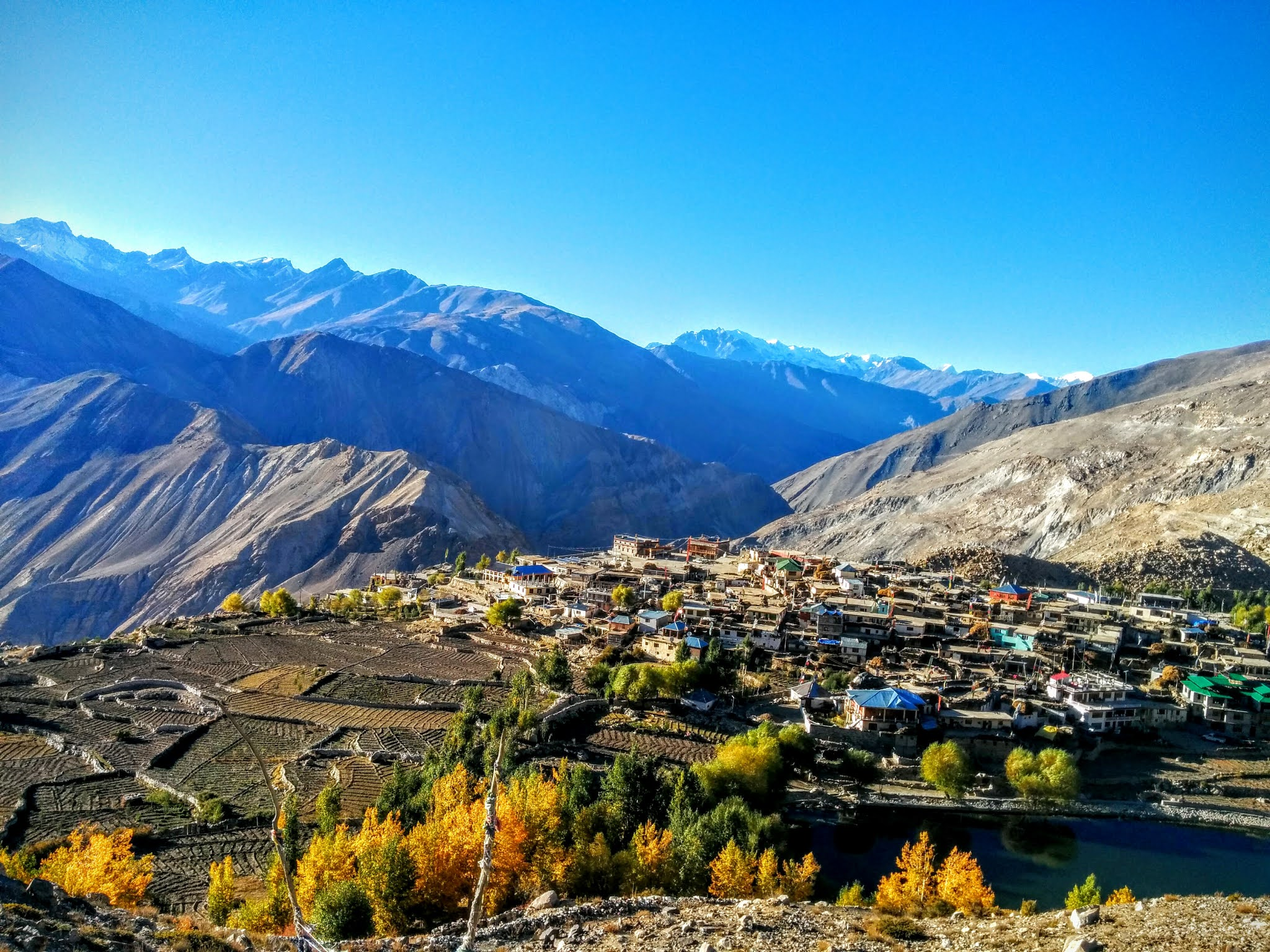 The gorgeous Nako village, Spiti valley, Himachal Pradesh