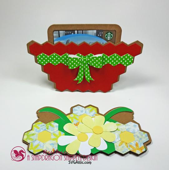 Garden basket hidden gift card - SnapDragon Snippets - Ruthie Lopez  3