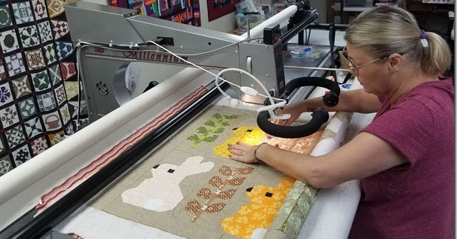 A Whole Lotta Quilting and a Joint Quilt-Cam!