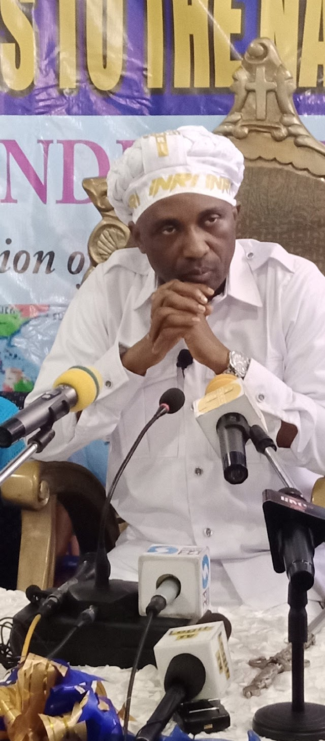 ''Fault Primate Ayodele With Facts, Not Falsehood And Hearsays'' –  Prophet's Aide Replies Andy Uba ~Omonaijablog