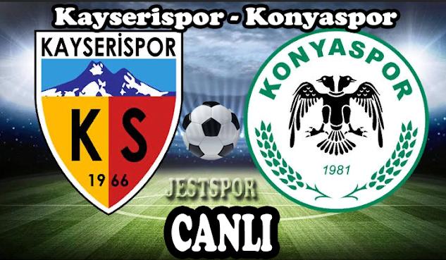 Kayserispor - Konyaspor Jestspor izle