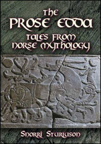 Cover of Snorri Sturlson's Book The Prose Edda Ver 2