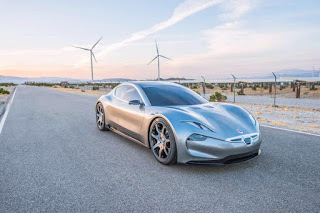 All-electric EMotion concept by Henrik Fisker