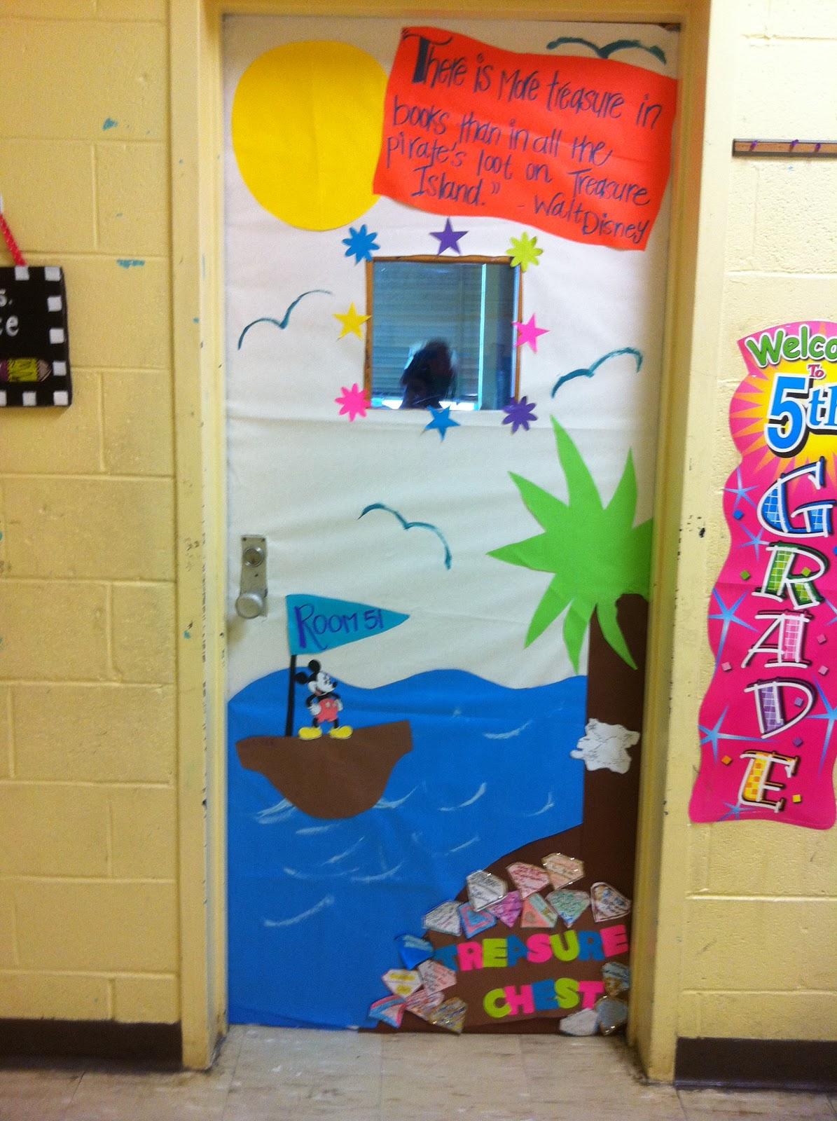 Classroom Break Ideas ~ A librarian life for me moor door decor spring