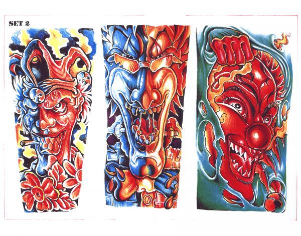 Mysterious Tattoo Design 12, Fantasy Tattoo Designs