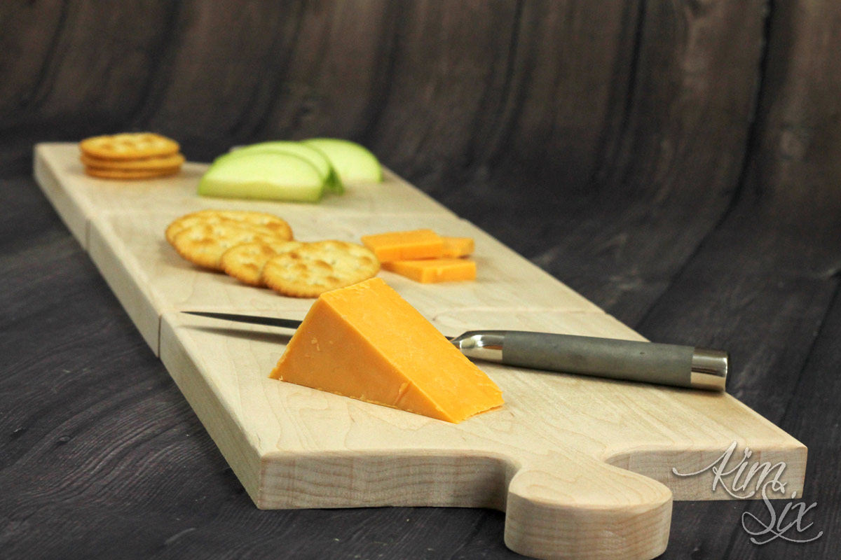 Mini cutting boards into large one
