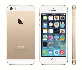 iPhone5s ゴールド
