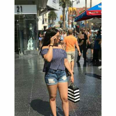 Oyakhilome's daughter slays in bum shorts in UK streets (Photos)