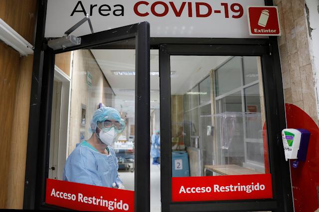 Clínicas privadas abarrotadas de pacientes covid-19