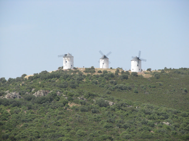 Windmills in Puerto Lápice, Spain