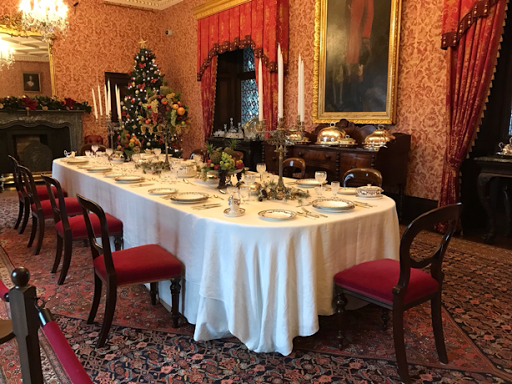 Kilkenny Castle formal dining room
