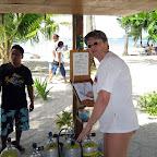 Analyzing the Nitrox filling (Malapascua)