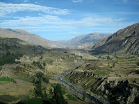 Start of the Colca Canyon