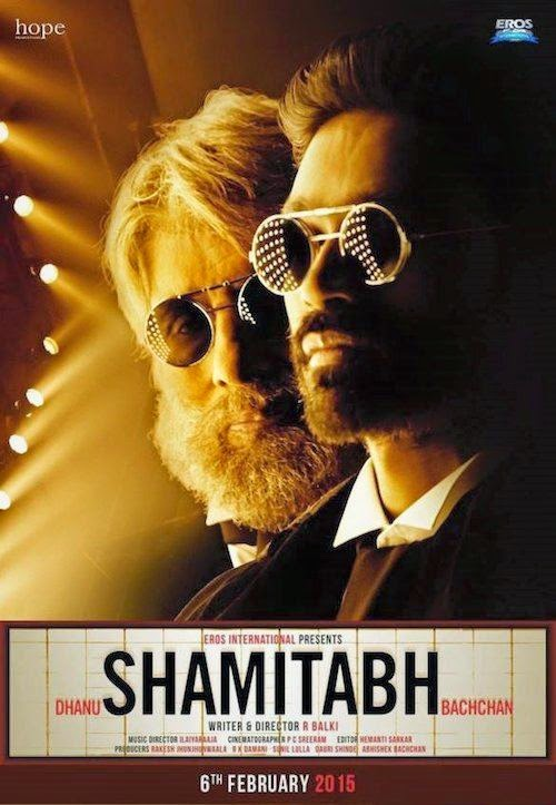 Cover of Shamitabh (2015) Hindi Movie Mp3 Songs Free Download Listen Online at Alldownloads4u.Com
