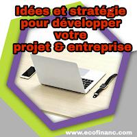Des idées et décisions pour développer votre petite entreprise et la transformer à une grande entreprise