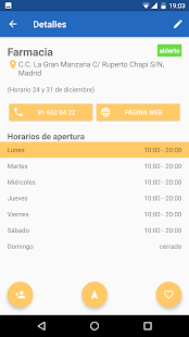 Horarios de apertura- screenshot thumbnail