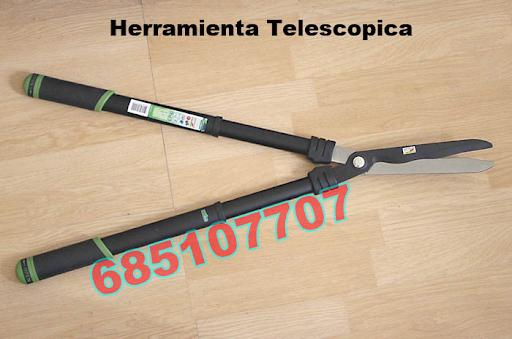 Podadora telescopica de ramas y troncos