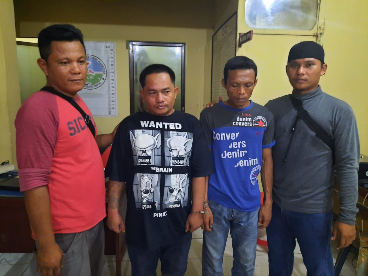 Pengedar Ajak Bandar Shabu Nginap Bareng di Hotel Prodeo Polres Tanjung Balai