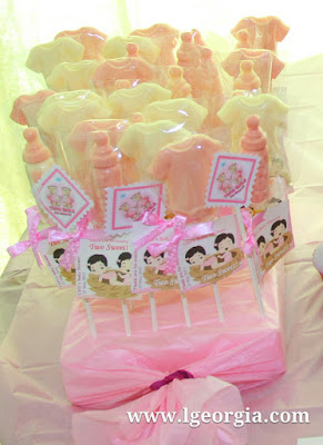 Baby Shower Chocolate Lollies