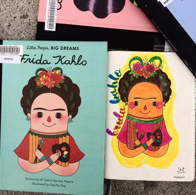 Liitle People, Big Dreams Frida Kahlo