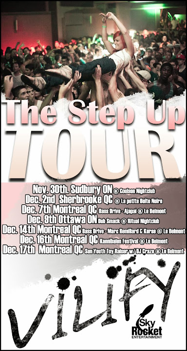 DJ VILIFY Step up Tour 2011
