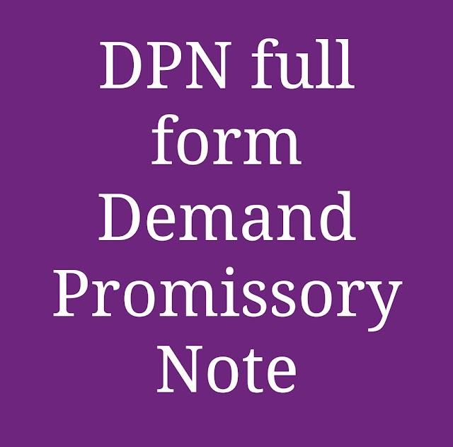 DPN Full Form