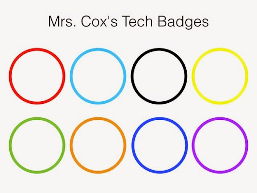 Teacher Technology Badges