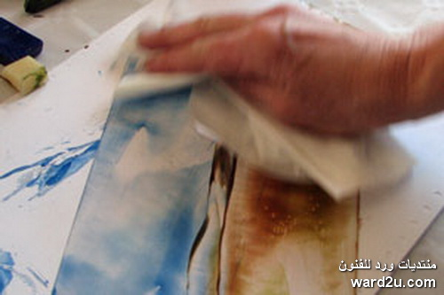 فن الرسم بالمكواة الانكوستك Encaustic Art