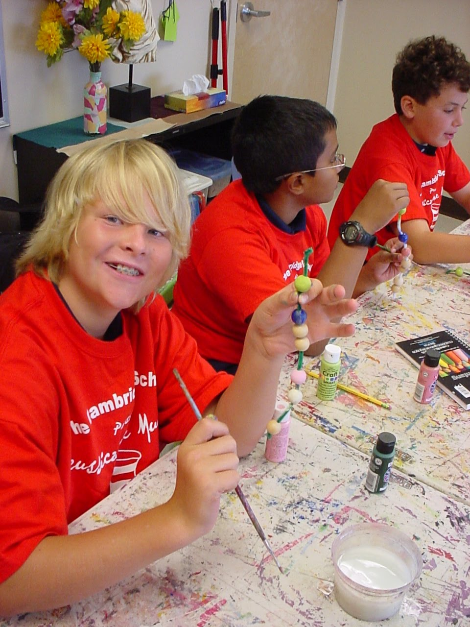 Cambridge School Students Painting EETs
