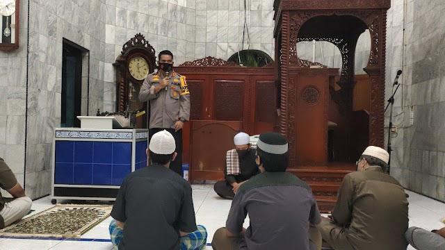 Safari Subuh, Ini Pesan-pesan Kapolres Inhu Untuk Jamaah Masjid