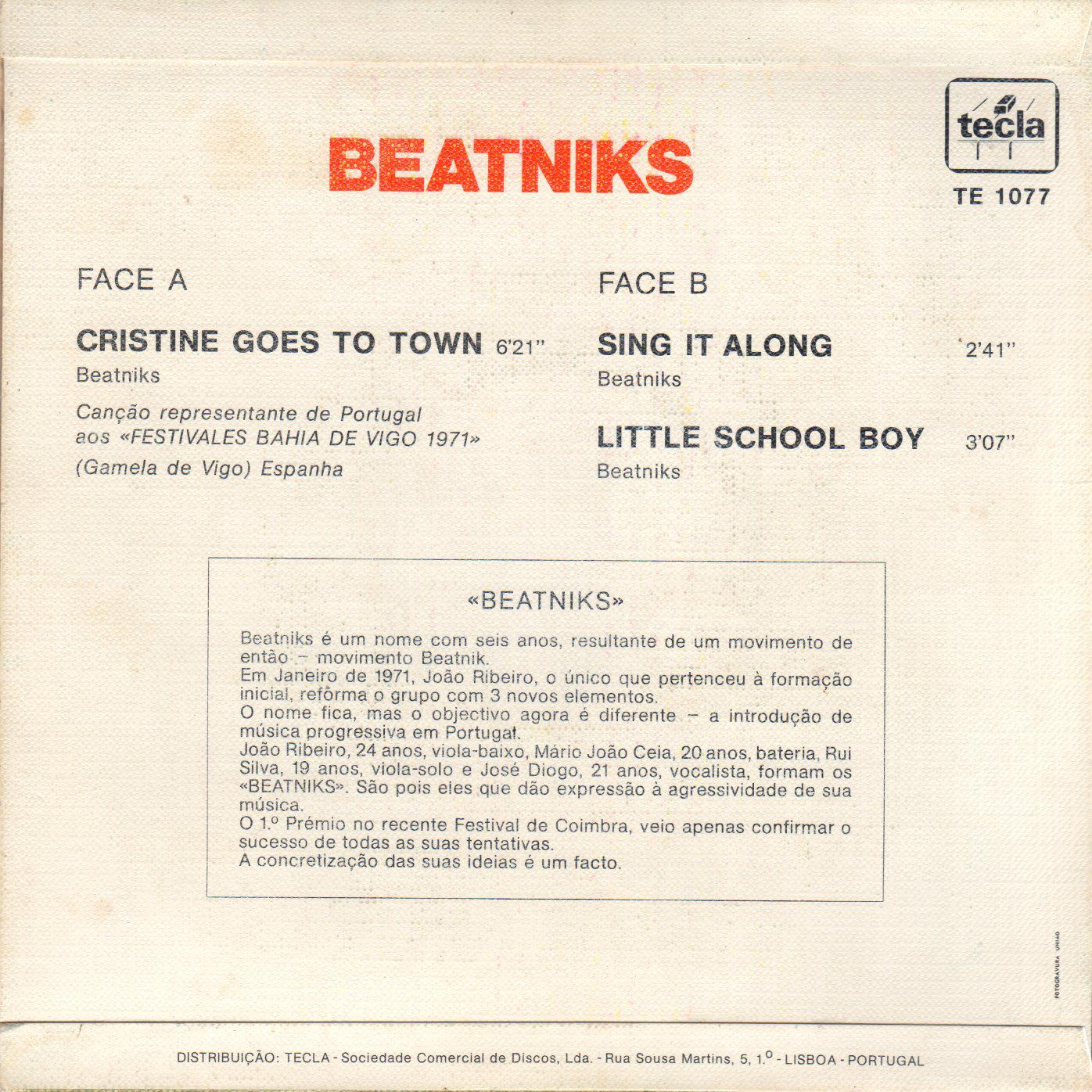 A rodar  VI Beatniks+Cristine+B032
