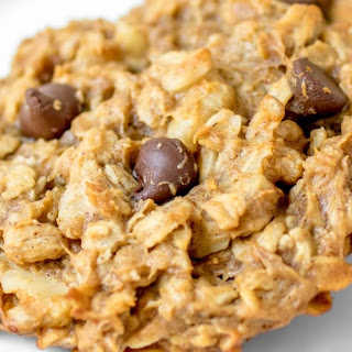 Chocolate Peanut Butter Banana Breakfast Cookies.