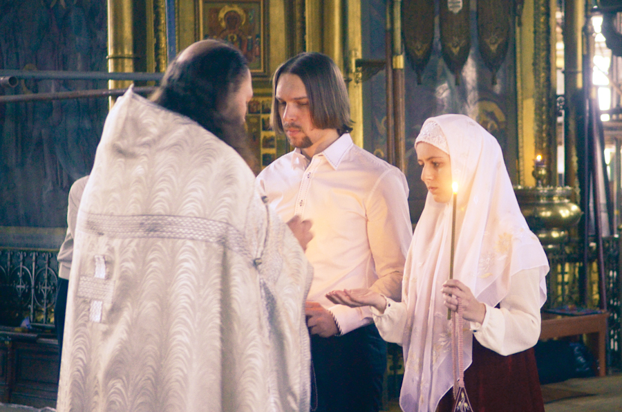 будущем, венчание старообрядцев фото френч будет уместным