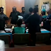 """Wahala Dey o: """"It's forbidden in our Church"""" Drama as bride refuses to kiss her husband during their court wedding at Ikoyi Registry [Video]"""