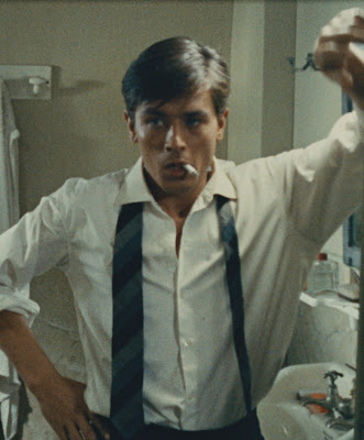 Alain Delon as Tom Ripley In Plein Soleil