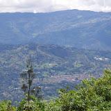 La cordillère Orientale depuis La Minga, Choachi, 2330 m (Cundinamarca, Colombie), 11 novembre 2015. Photo : J.-M. Gayma