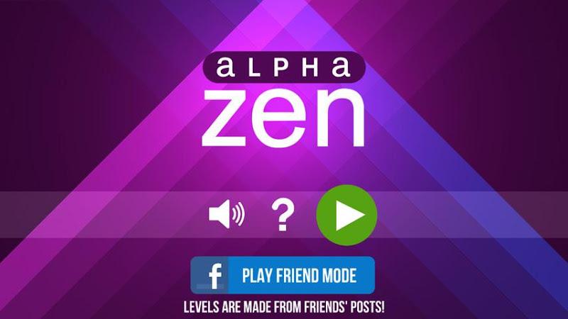 Скриншот Alpha Zen