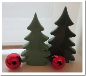 TYger ceramic christmas trees