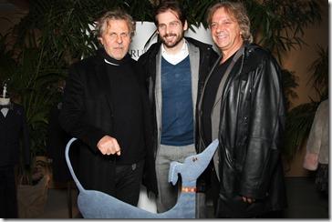 Renzo Rosso, Tomaso Trussardi e Germano Ferraro