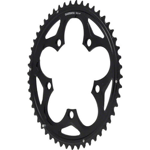 Shimano 105 5750 50t 110mm 10spd Compact Chainring Black