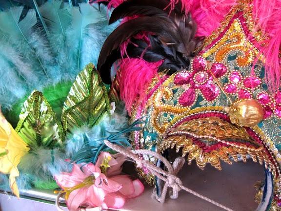 Carnival costumes in Rio de Janeiro Brazil