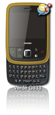 Nexian Verde G933 | Cellular Information
