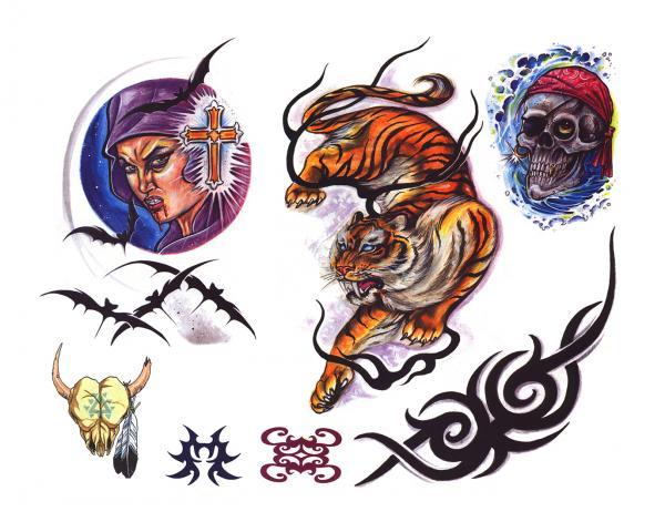 Design Of Magick Tattoo 17, Fantasy Tattoo Designs