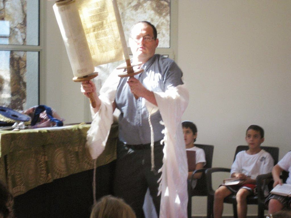 Receiving Torah 2nd grade 2012  - IMG_5306.jpg